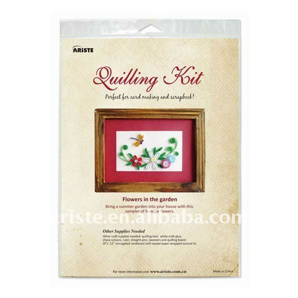 26802 DIY Tool Paper Quilling Tools Kit / Work Board /Quilling Slotted