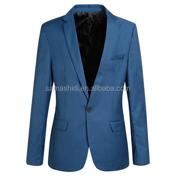 Beautiful Design Suit China Designer Blue Colour Suits For Men
