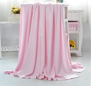 new style jacquard Very soft muslin bamboo fiber blanket warm and breathable