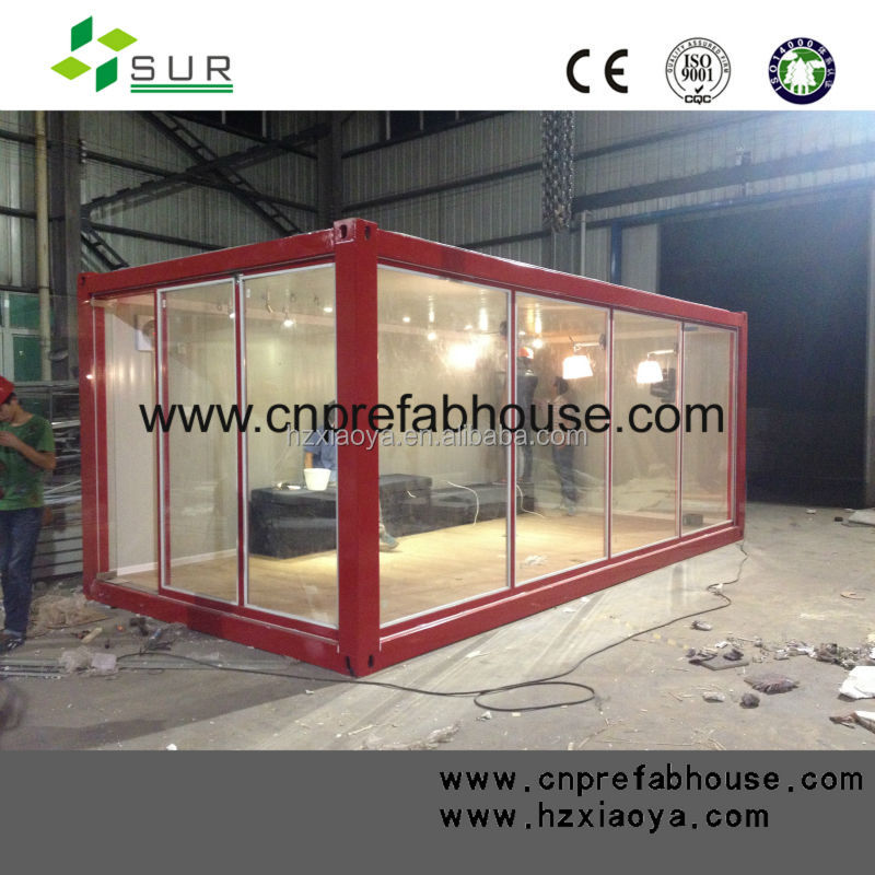 Unit prefabricated house container house dimension as living room/office