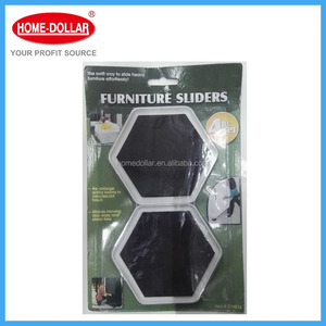 4PC Hot Sale Wholesale Scratch-resistant Moving Furniture Sliders /Sliding Pads