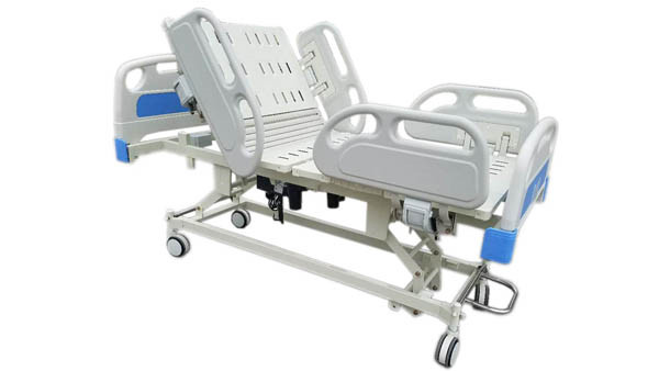 CY-B300 8 functions Electric Adjustable Icu hospital bed with weight scale
