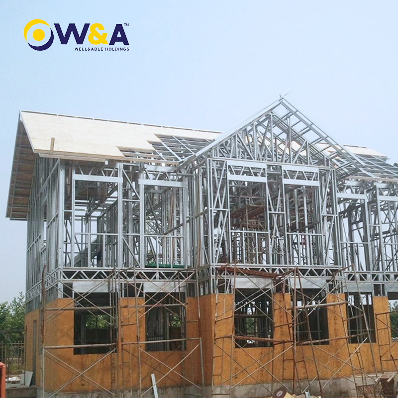 (WAS1008-46D)Modern Steel Structure House/Prefab House/Prefabricated/Modular Homes
