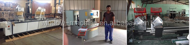 PVC window and door welding processing machine
