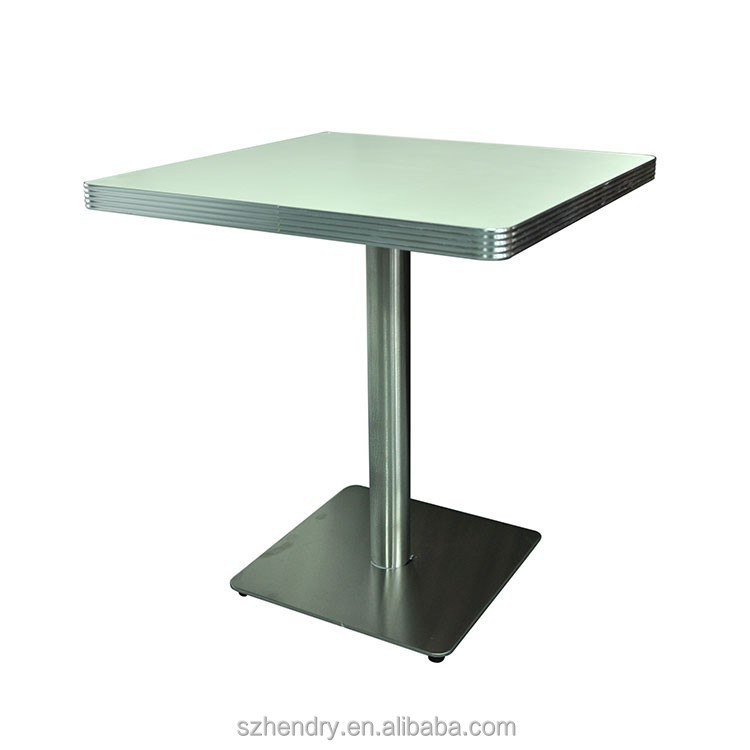 American Retro Diner Laminate Table,Square Antique American Plywood  Restaurant Table   Buy American Retro Table,Antique Restaurant Table,American  Diner ...