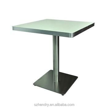 American Retro Diner Laminat Tisch, Platz Antiken American Sperrholz Tisch  Im Restaurant