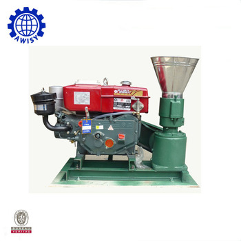 100-150kg/h Animal Feed/wood/fuel Pellet Machine For Home ...