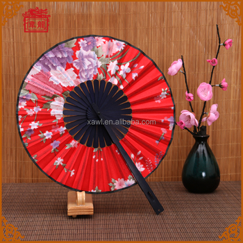 Personalized Wedding Favors 360 Degree Round Hand Folding Fans Fcs003