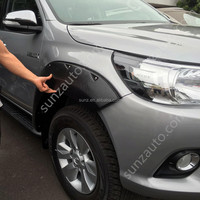 Revo Hilux Toyota 2015 Fender Flare Big Type textured black hilux revo 4wd Wheel Arch Flares