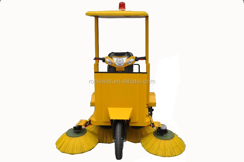 Bike Style Electric Floor Sweeper For Big Size Garbage   Buy Electric Floor  Sweeper,Floor Sweeper For Garbage,Electric Bike Sweeper Product On  Alibaba.com