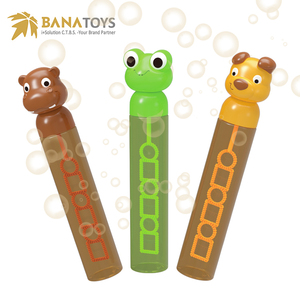 Cute design cartoon soap bubble wand toy