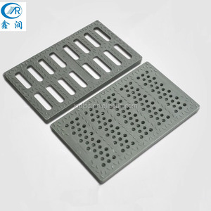 Anti-Theft Resin Fiberglass Rebar Gully Gratings For Sidewalk