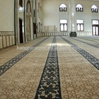 High Quality Axminster Wool Wall to Wall Muslim Use Mosque Carpet for Mosque Prayer W-M5Series
