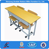 cheap classroom table study bench adjustable school double student desk and chair