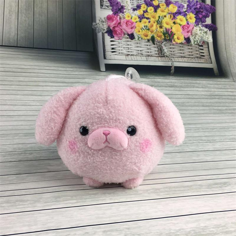 New design cute soft stuffed animals toy plush round shape <strong>rabbit</strong>