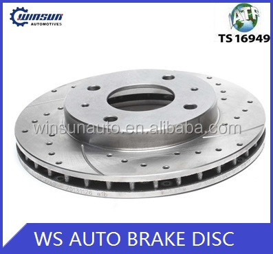 Gray Iron Brake Disc MB668107 Auto Accessory For used cars