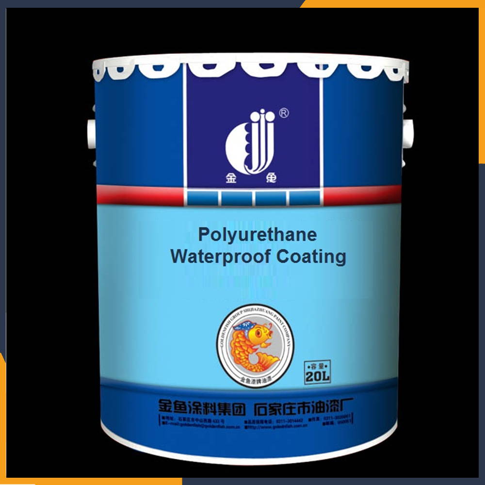 Golden fish single content waterborne polyurethane ( PU ) waterproofing coating