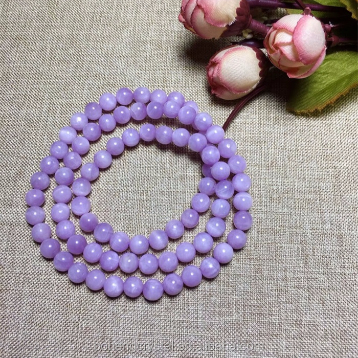 Rocks, Fossils & Minerals Trend Mark 9mm Natural Purple Sugilite Gemstone Woman Round Beads Healing Bracelet Aaa