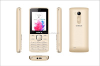 Hot sale bar type quad band G3 2.4 inch cheap feature mobile phone support multi function from mobile phone industry