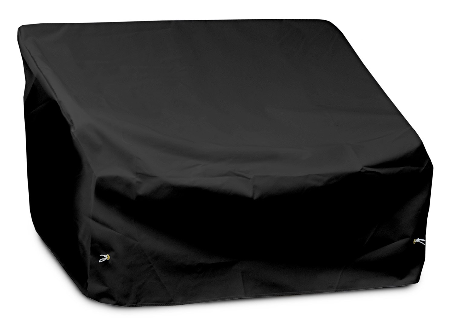 KoverRoos Weathermax 72350 2-Seat/Loveseat Cover, 54-Inch Width by 38-Inch Diameter by 31-Inch Height, Black
