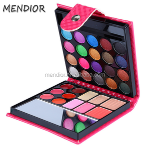Mendior Most popular Multi makeup colored High Quality organic Eyeshadow Palette,32 color magnetic Glitter pallet eye shadow