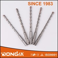 Three Carbide Automatic Brazed Concrete Hammer Drill Bit