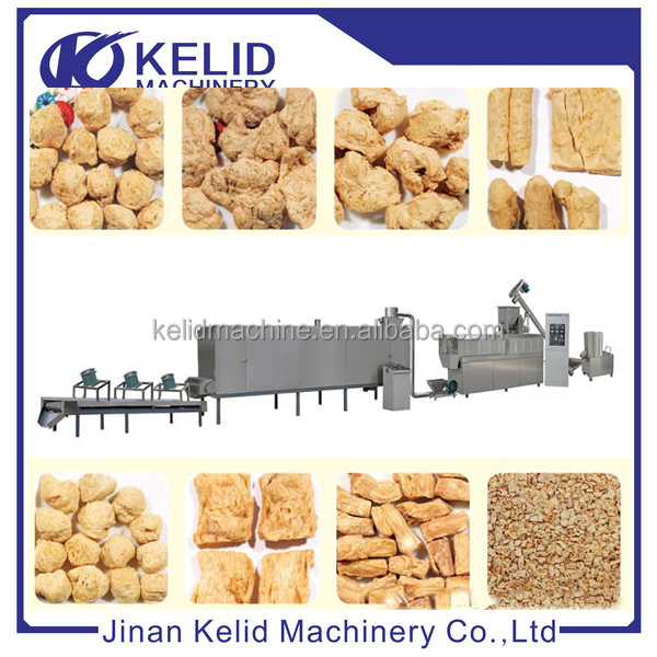 Fully Automatic Textured Soy Protein Production Machine
