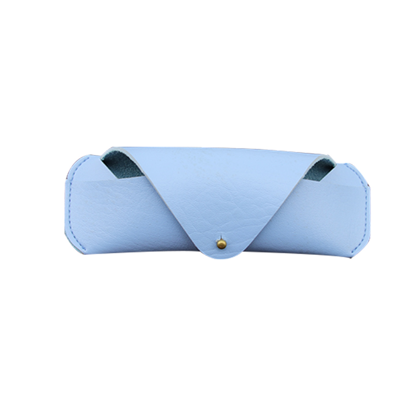 Hot sell classic soft genuine leather 봉투 sunglass case cute 안경 pouch 쿨 glasses bag
