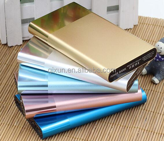 portable power bank charger 8000mah, smart rohs power bank charger