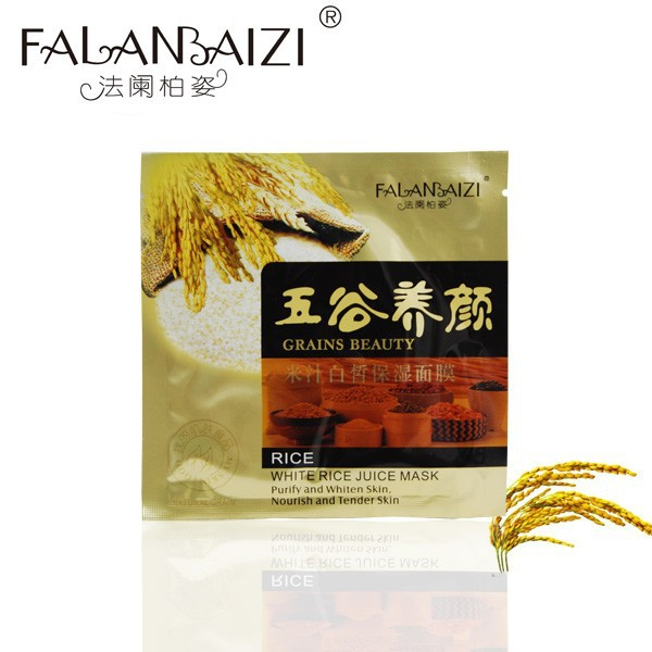 Non-woven fabric Grains Beauty whitening Facial Mask