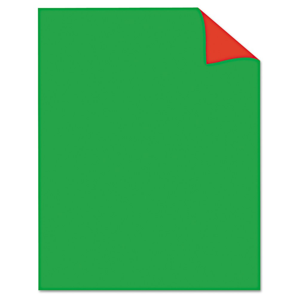 Royal Consumer Poster Board, Two Cool Red/Green, 22 x 28 Inches, Pack of 25 (24320B)