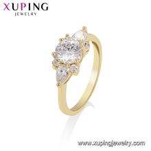 15579 xuping imitation african american diamond arabic gold wedding rings