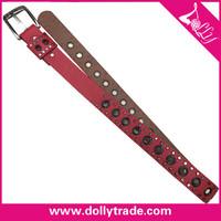 Fashion Casual Women Leather Money Belt