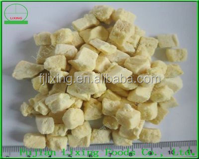 Freeze dried fruit of 100% natural dried durian dice