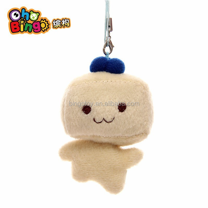 Oho Bingo Factory plush emoji keychains stuffed plush soft toy
