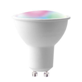New smart GU10 rgbw lighting fixtures- Smartphone bluetooth dimmable and multicolored 4W RGB GU10 Spotlight