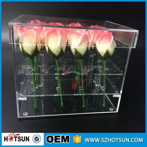 Clear Plexiglass Storage Box Acrylic Flower Box   Buy Acrylic Flower Box,Plexiglass  Storage Box,Clear Acrylic Flower Box Product On Alibaba.com