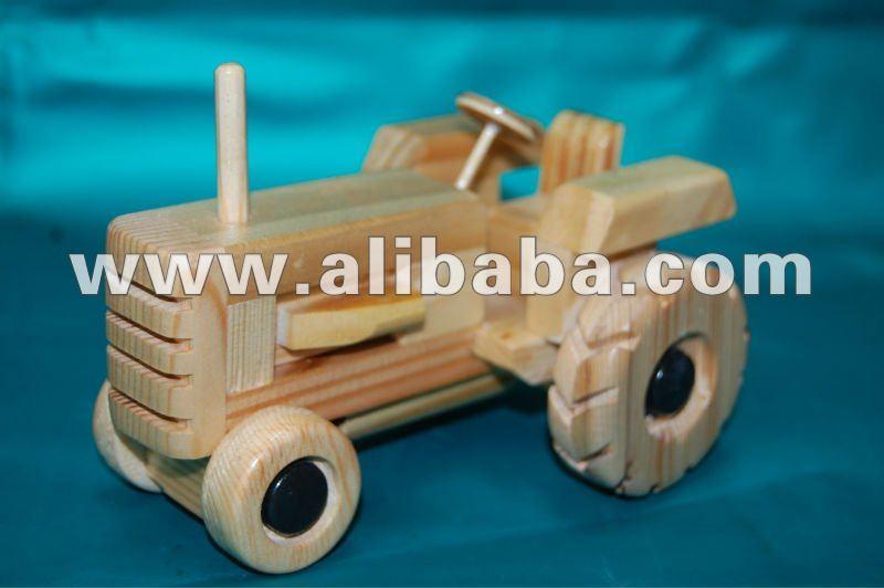 Voiture de jouet en bois, Camion, Tracteur Autres jouets& loisirs ID de produit 127831702  # Jouet Ancien En Bois