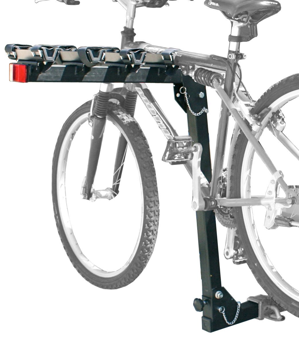 Spec-D Tuning TOW-BIKE401 Black Spec-D Hitch Mount Bike Rack