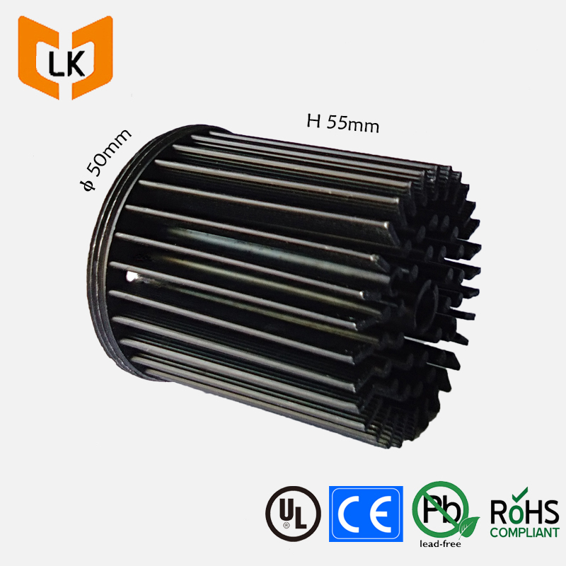Chinese disipador flexible high power led vero 29 heatsink 50mm diameter for cxb3070