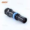 Minimal contact resistance IP 67 waterproof dc power connector connector
