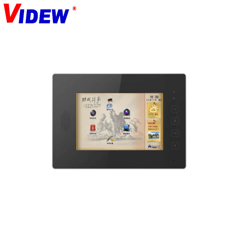 9 inch video intercom for Multi Apartments System