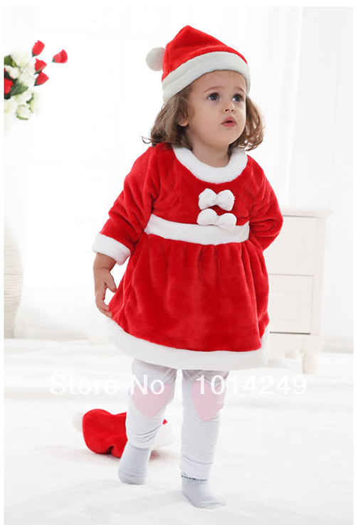 Get Quotations · Winter new style Christmas Christmas Baby Girls Dress Set + cute Christmas hats Wholesale  sc 1 st  Alibaba & Cheap Christmas Dress For Baby Girls find Christmas Dress For Baby ...
