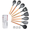 8pcs Silicone Cooking Kitchen Utensils Set