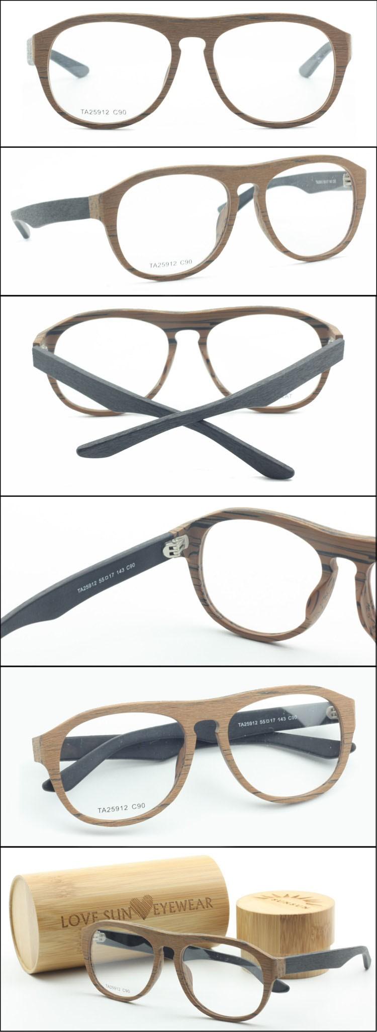 Optischen Rahmen Korea Design Lastest Brillen Gefälschte Holz ...