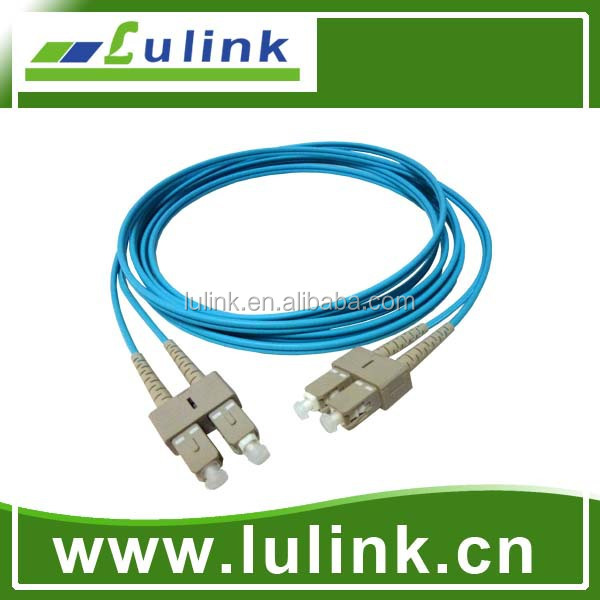 0.5m 1m 2m 3m 5m 10m OM1 62.5/125 OM2 OM3 50/125 SM DUPLEX  DIN FC/UPC 2.0/3.0mm  fiber optic patch cord