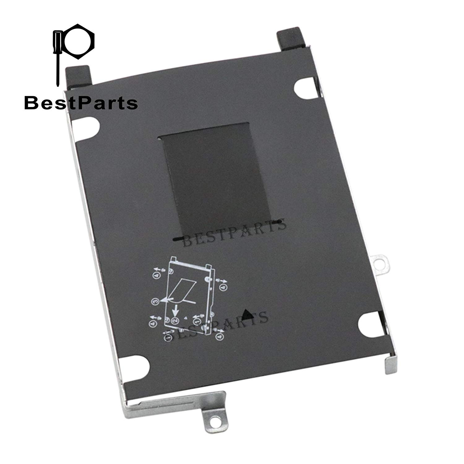 BestParts FOR HP ProBook 455 450 470 475 G4 Hard Drive Caddy Hardware kit w/Screw US