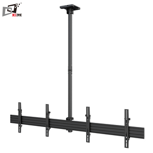 Made In China Tilt Telescoping Ceiling Mount TV Bracket For Dual Screens