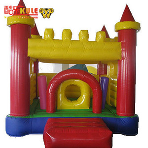 Factory Price PVC Commercial Inflatable Bouncer House Banner+Inflatable Castle For Kids For Sale