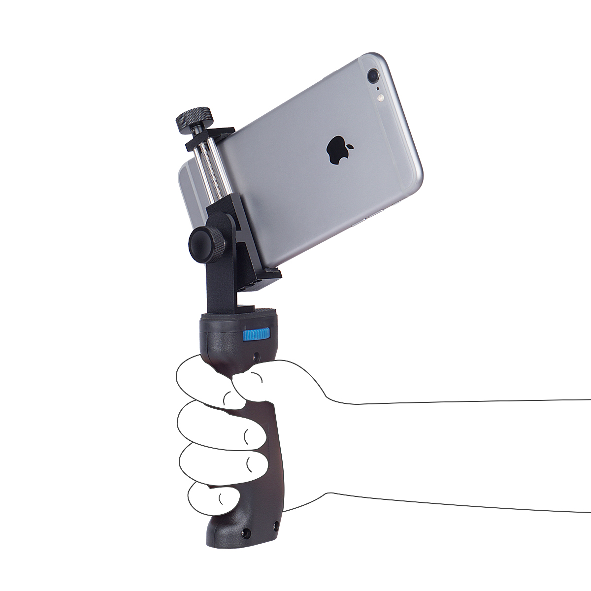 Yelangu Mobile Smart Phone Cage Video Stabilizer Phone Rig